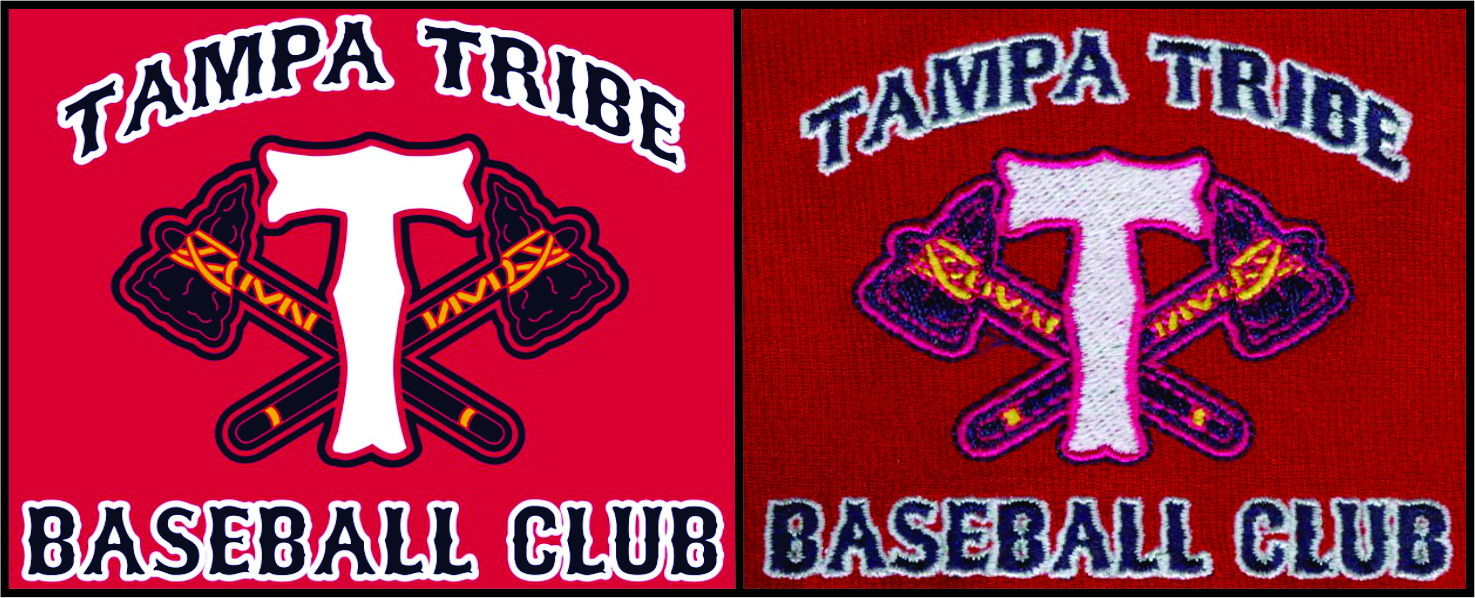Tampa Tribe Embroidery
